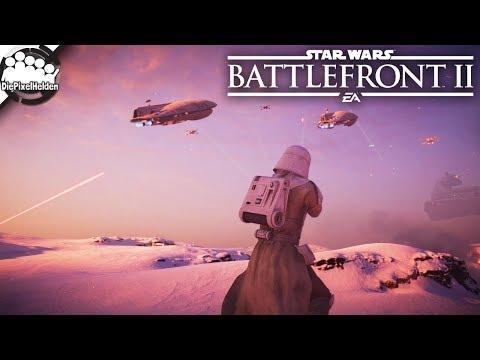 STAR WARS Battlefront II #16 - Feuerroter Himmel über Hoth - Let's Play SWBF2