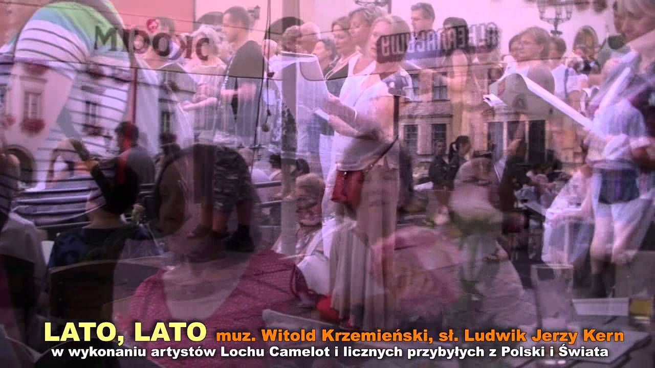 Lato Lato Muz Witold Krzemieński Sł Ludwik Jerzy Kern