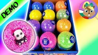 *НОВО* разопаковаме 12 яйца с изненада! Желе с топченца Foam Clay PALS яйца с изненади