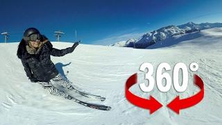 360°-Video: Brettern Sie mit Vera Dillier über die Skipiste!