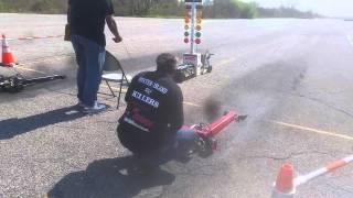 34cc Wayne Vs Bartolone Arnold 1/5 Scale R/C Dragster Race Nitrostreets racing