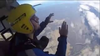 Final moments captured before two skydivers die in tragic accident in Sydney, Australia.