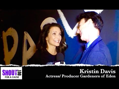 Kristin Davis Interview at RACING EXTINCTION PREMIERE ON DISCOVERY Interview a SHOUT OUT FOR A CAUSE