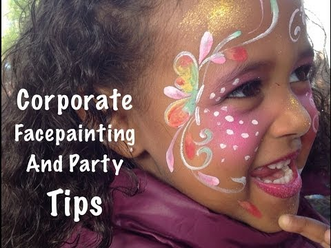 Corporate Face Painting  07946 047959 London Face Painters party tips