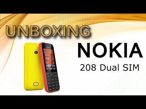 UNBOXING: Nokia 208 dual-sim ( celular10 )