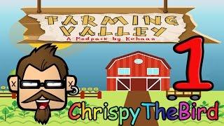 Farming Valley ♥001♥ - Stardew Valley meets Minecraft {deutsch/german}