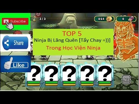 Học Viện Ninja #44 : Top 5 Ninja Bị Lãng Quên!! Và Sức Mạnh Của Họ??