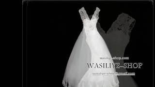 Свадебное платье Ажурное с пайетками