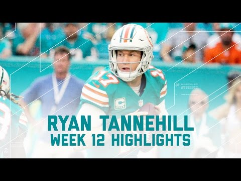 Ryan Tannehill Tosses 3 TDs! | 49ers vs. Dolphins | NFL Week 12 Player Highlights
