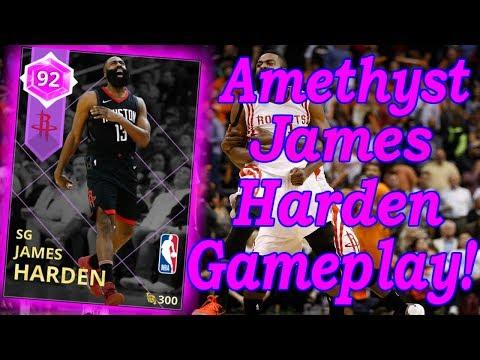 nba2k18-myteam-amethyst-james-harden-gameplay!-40+-points-performance!