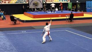 15th European Wushu Champ. - CQM - Sefa Erez - Turkey - 9.15