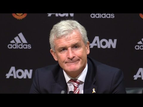 Manchester United 1-1 Stoke - Mark Hughes Full Post Match Press Conference