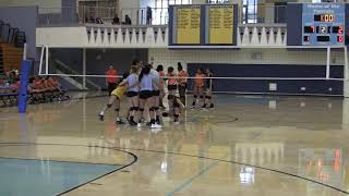 Heritage High School: Girls JV Volleyball 9-20-18