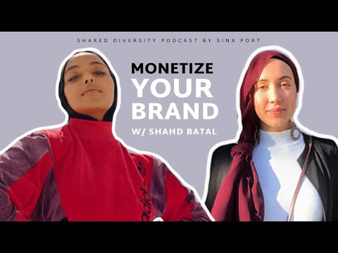 Shahd Batal: MAKE MONEY FROM YOUR PERSONAL BRAND | With Sina Port