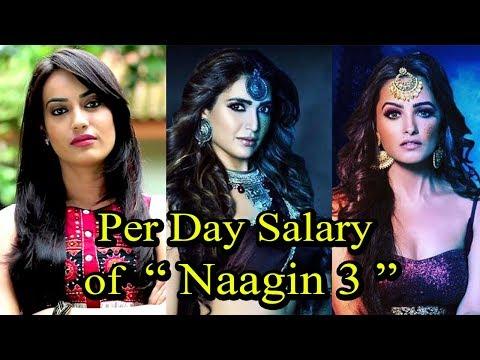 """Naagin 3"" Actors Per Day Salary   Surbhi Jyoti,Karishma Tanna,Anita Hassanandani thumbnail"