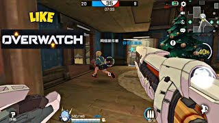 Ace Force Android Gameplay (By Tencent) Like Overwatch