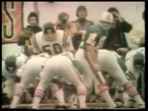NFL   Hilites   Super Bowl VIII   Part 2   Miami Dolphins VS Minnesota Vikings   imasportsphile