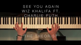 Wiz Khalifa ft. Charlie Puth - See You Again | The Theorist Piano Cover