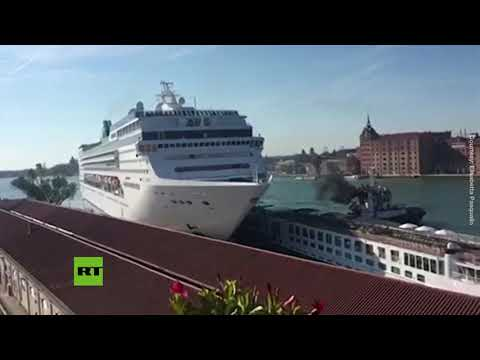 Wes Carroll Blog (58610) - Cruise Ship Crashes Into Tourist Boat In Venice