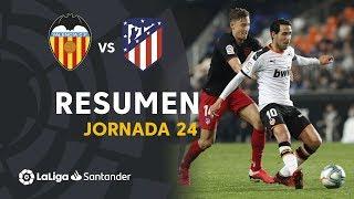 Resumen De Valencia Cf Vs Atlético De Madrid 2-2
