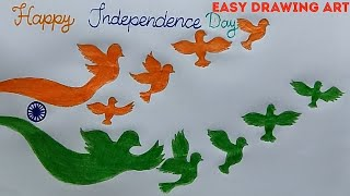 how to draw independence day poster || 15 august drawing