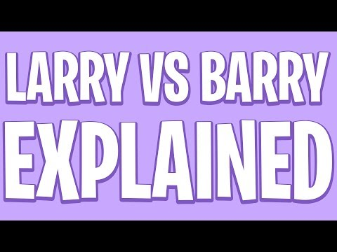 Larry reveals everything.
