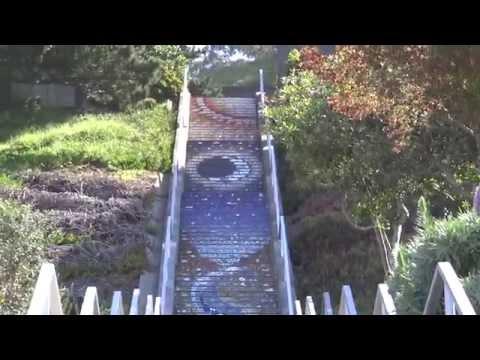 San Francisco, California - 16th Avenue Tiled Steps Project HD (2014)