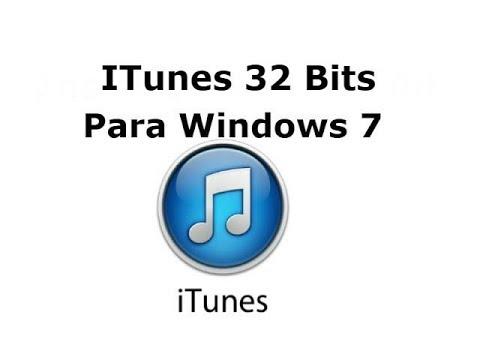 Instalar iTunes 32 Bit Para Windows 7