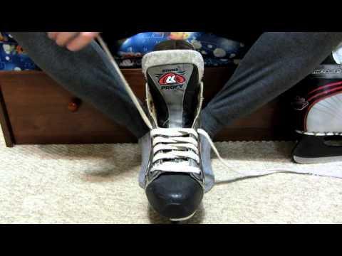 Как правильно шнуровать коньки
