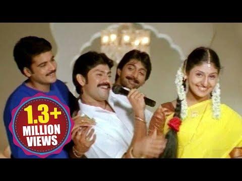 Siva Rama Raju Songs - Andala Chinni Devatha - Jagapathi Babu, Venkat, Shivaji, Mounica, Laya - HD