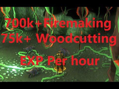 Runescape Jadinko Lair 700k+ Firemaking xp per hour - YouTube
