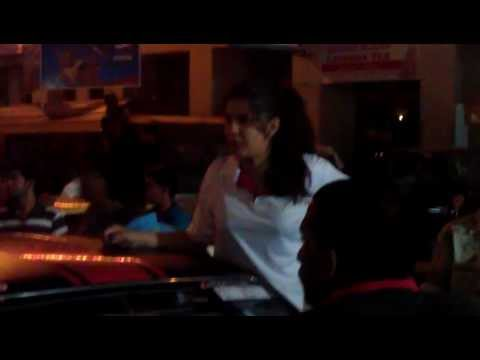Colombo Night Race 2011 : Rohitha With his Nissan March ;-)