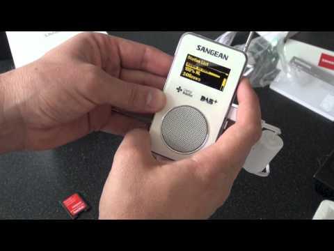 Sangean DPR-36 DAB+ digital radio