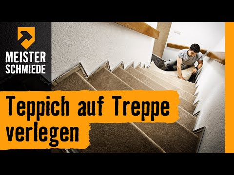 teppich auf treppe verlegen hornbach meisterschmiede. Black Bedroom Furniture Sets. Home Design Ideas