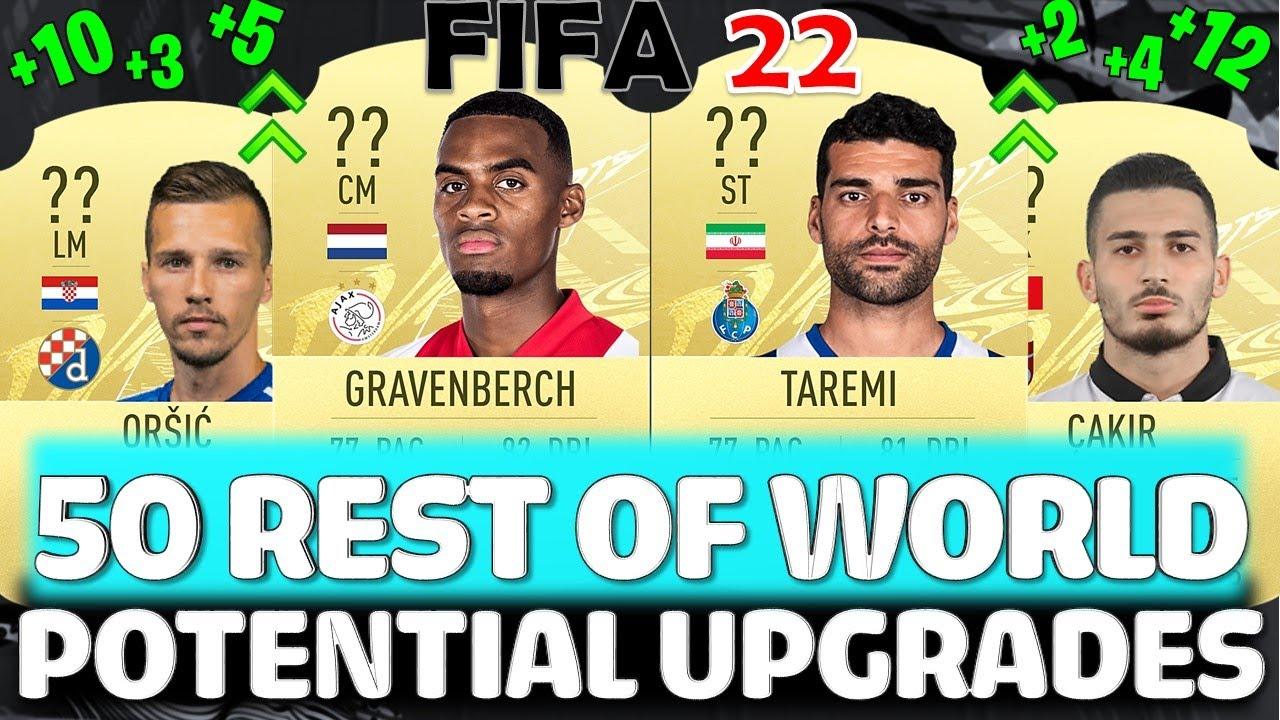 FIFA 22   50 REST OF WORLD UPGRADES PREDICTIONS!! FT GRAVENBERCH, TAREMI, ORSIC ETC FIFA 22 UPGRADES