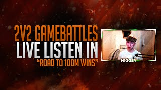 "Black Ops 3 2v2 Gamebattles - ""Road To 100 Wins"" (Live Bo3 GBS)"