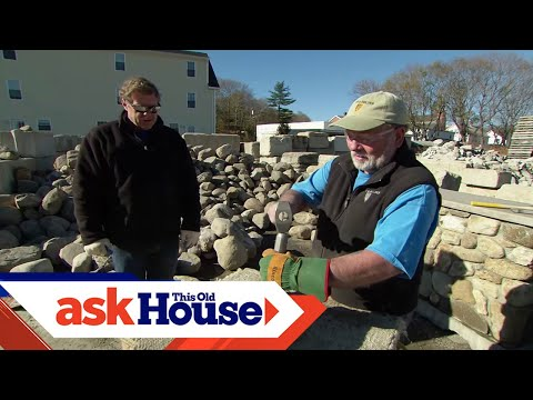 How to Cut and Shape Stones