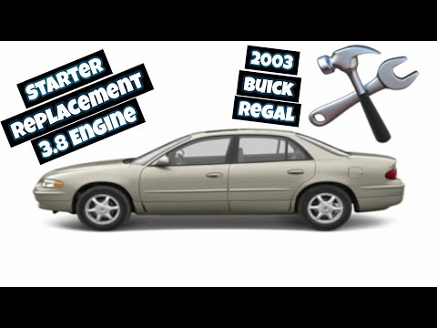 How To Replace Starter 2003 Buick Regal