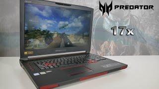 видео Игровой ноутбук Acer Predator 17X