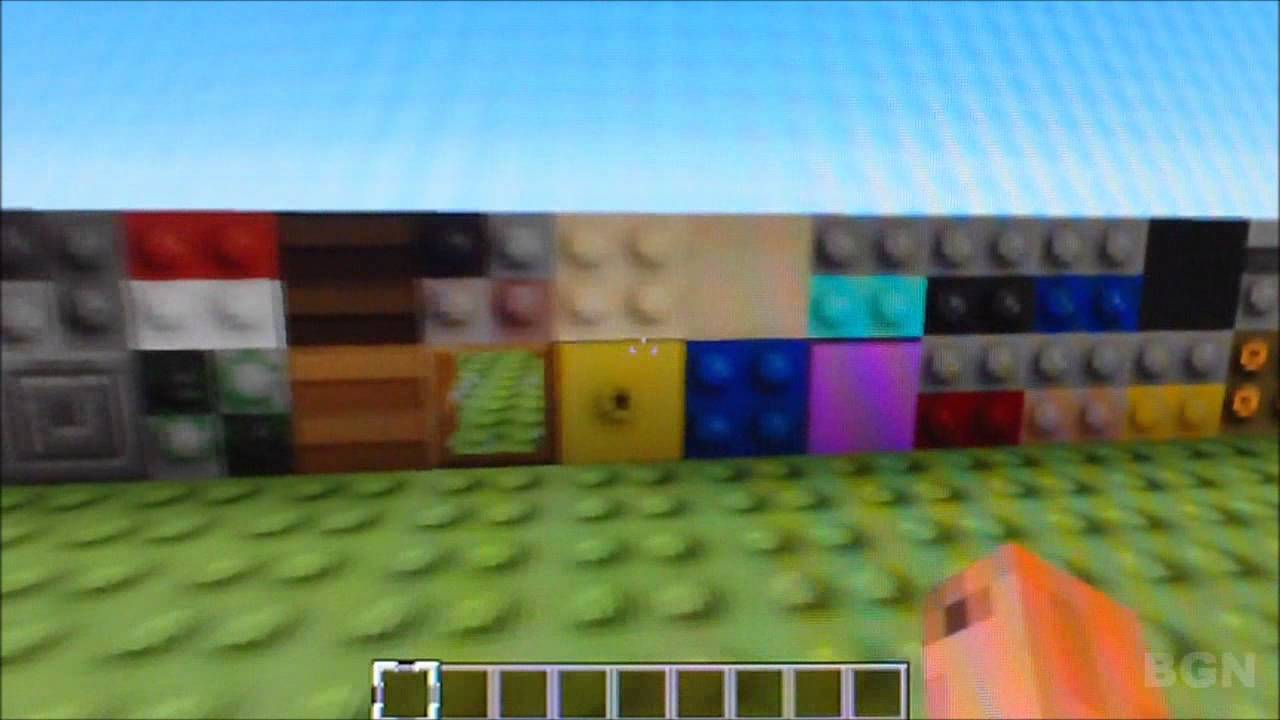 Minecraft Lego Texture Pack Review Youtube