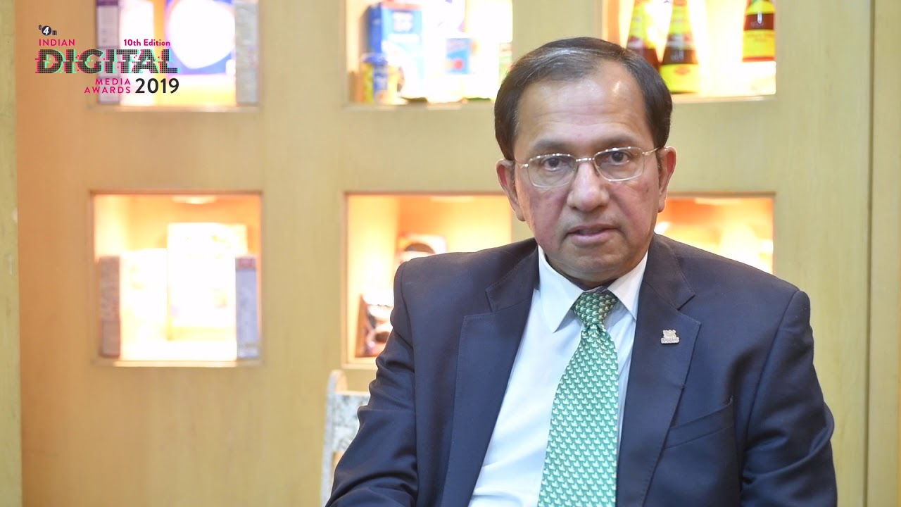 Suresh Narayanan- Chairman & MD- Nestle (Jury chair- Indian Digital Media Awards 2019)
