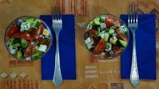 Рецепт салата с авокадо и фетой. Сплошная польза! Худеть вкусно и просто