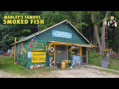 ROADSIDE STOPS - Manley's Famous Smoked Fish - St Ignace Michigan
