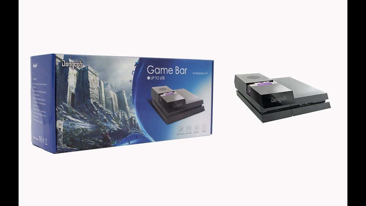 Dongcoh Game Bar For Play Station 4 Unboxing Video Youtube