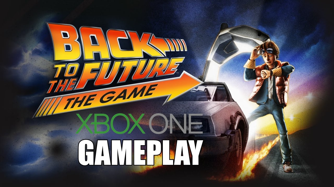 Back To The Future: The Game PS4 Gameplay 1080P 60FPS ...