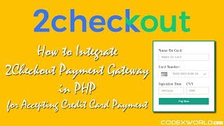 2Checkout Payment Gateway Integration in PHP