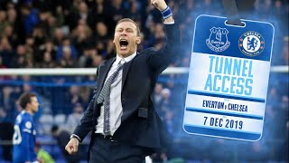 JUST LISTEN TO THAT CROWD! | TUNNEL ACCESS: EVERTON V CHELSEA
