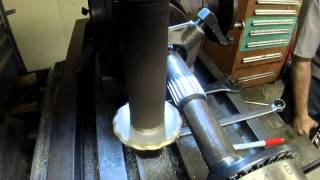 Spline milling Cutting splines using the dividing head and finishing the transmission(part 4)
