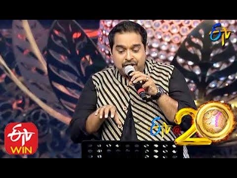 Shankar Mahadevan Performs - Chupultho Guchi Guchi Song in ETV @ 20 Years Celebrations