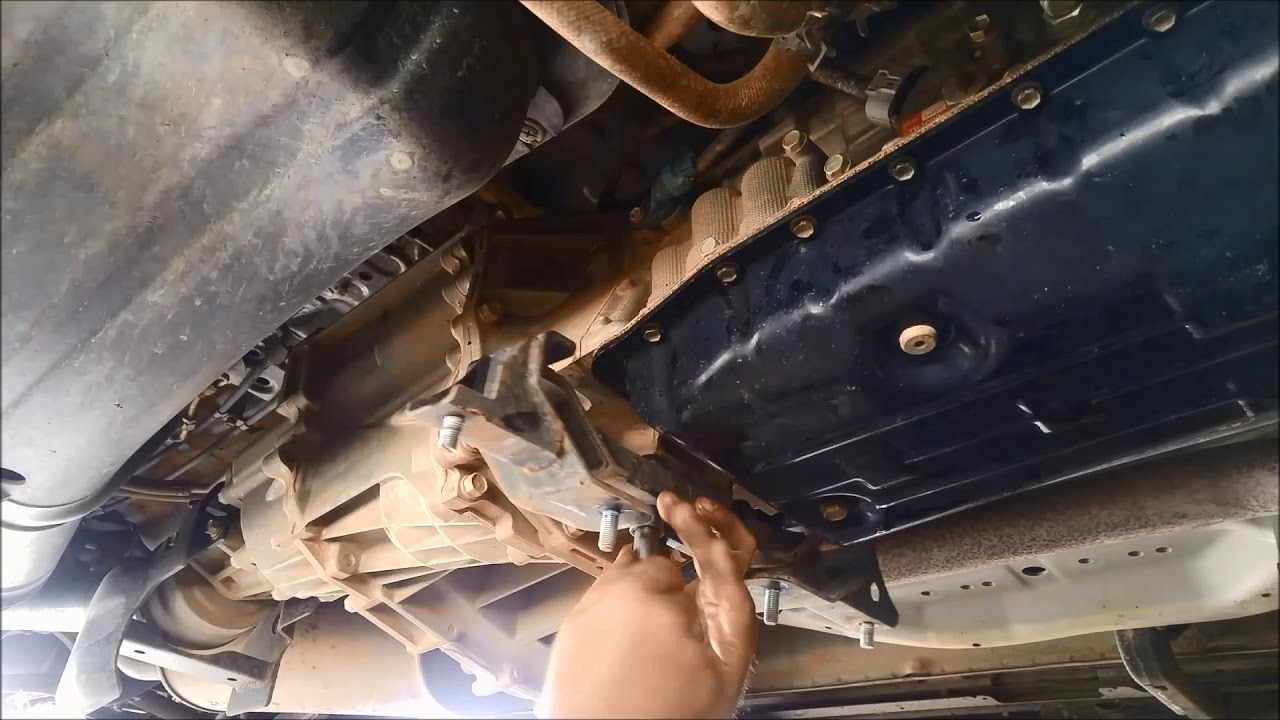 Mitsubishi Pajero V5AWF / Toyota A750E/F Automatic Transmission Filter  Service